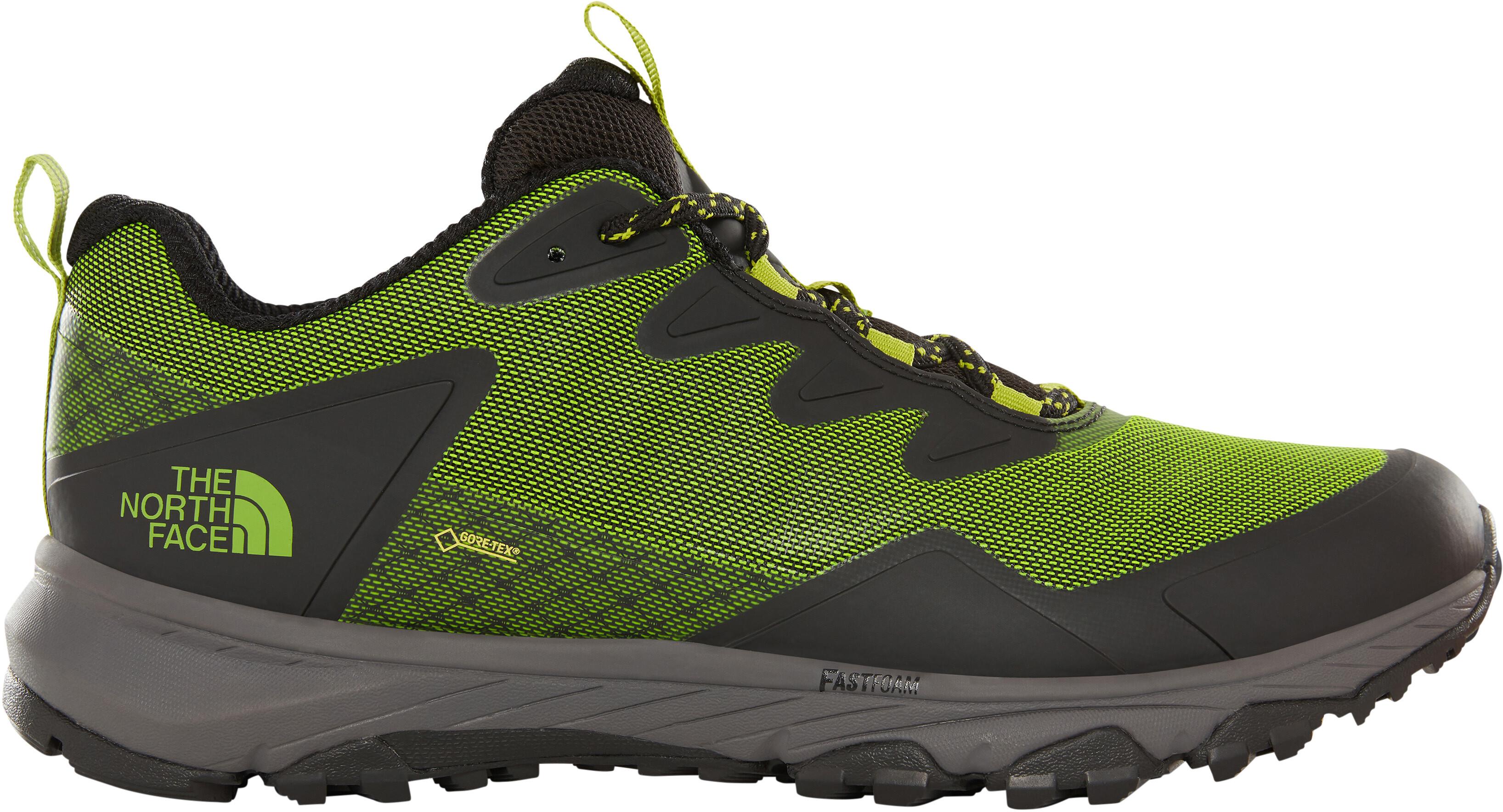 07985c09d The North Face Ultra Fastpack III GTX Shoes Men tnf black/tender green